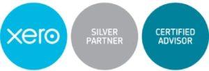 XERO certified silver partner badge
